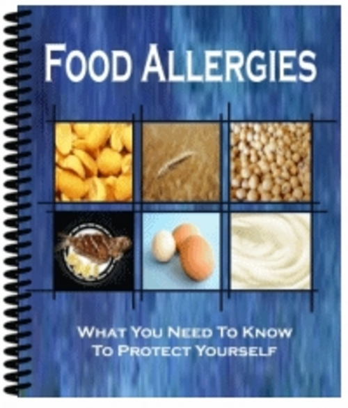 Product picture Food Allergies MRR + 4 Bonuses PLR + 10 PLR Articles