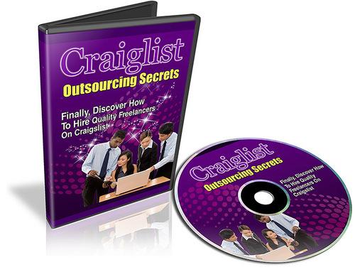 Product picture Craigslist Outsourcing Secrets