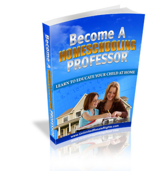 Product picture Become A Homeschool Professor